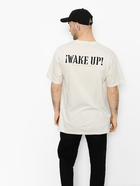 OBEY T-shirt Obey Wake Up Silent Majority (crm)