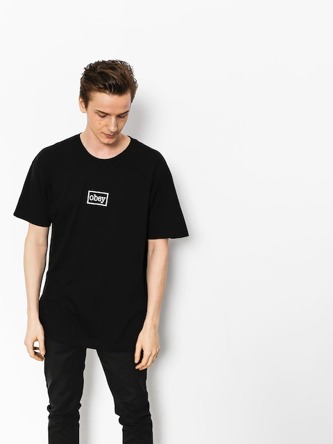 OBEY T-shirt Obey Typewritter (blk)