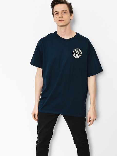 OBEY T-shirt Obey Dissent Standards (nvy)