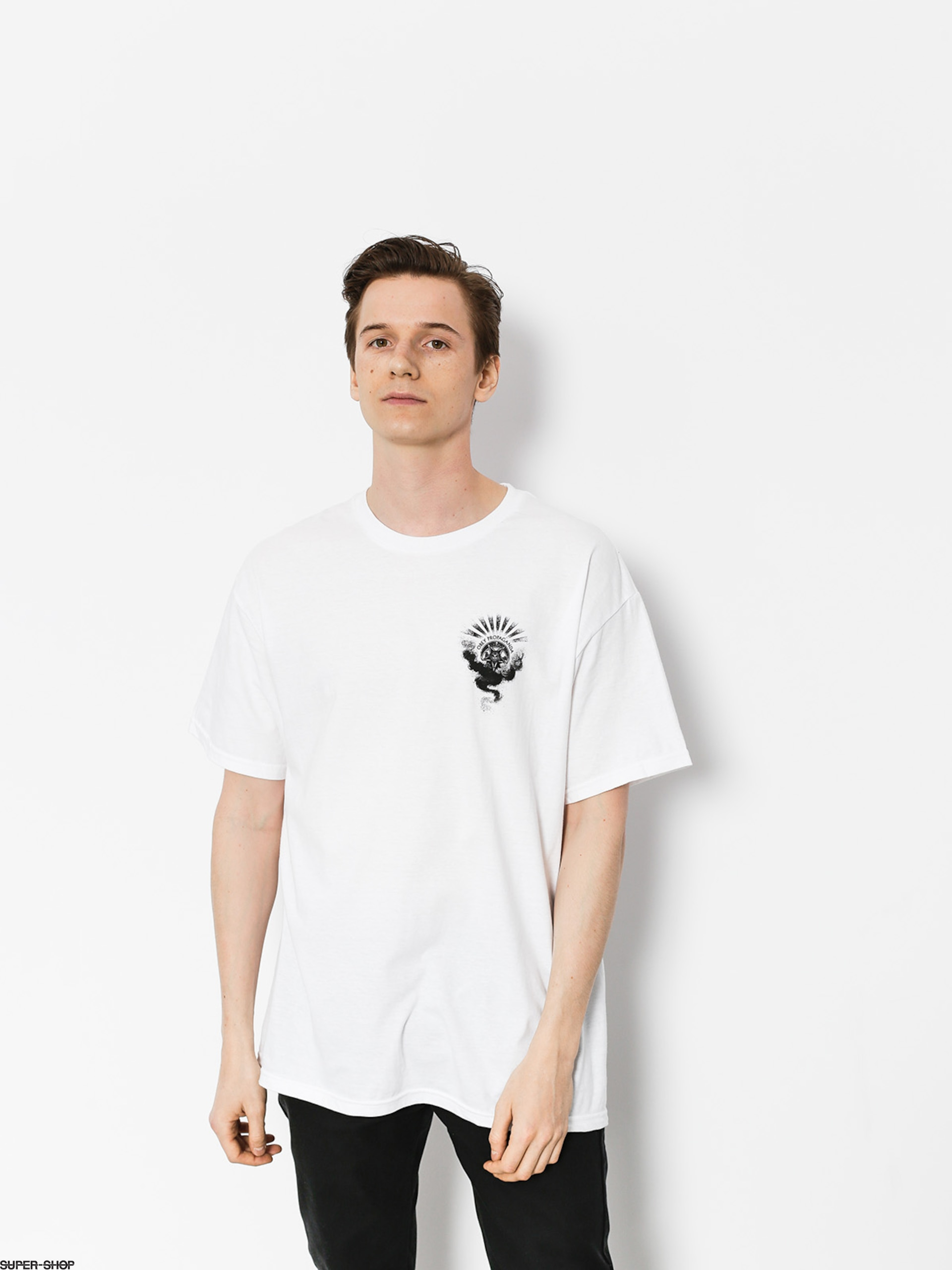 OBEY T-Shirt Obey Cult Of Dark Smoke (wht)