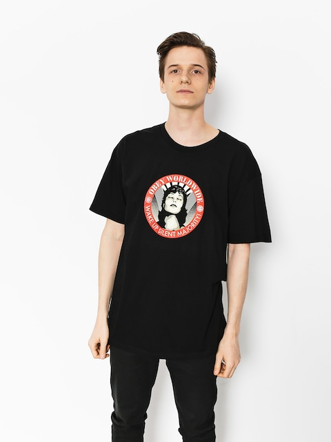 OBEY T-shirt Obey Wake Up Silent Majority (blk)