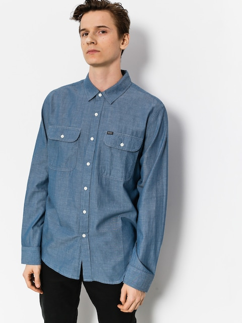 OBEY Shirt Glassell Woven (lbl)
