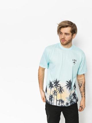 LRG T-shirt Palm Tree Knit (powder blue)
