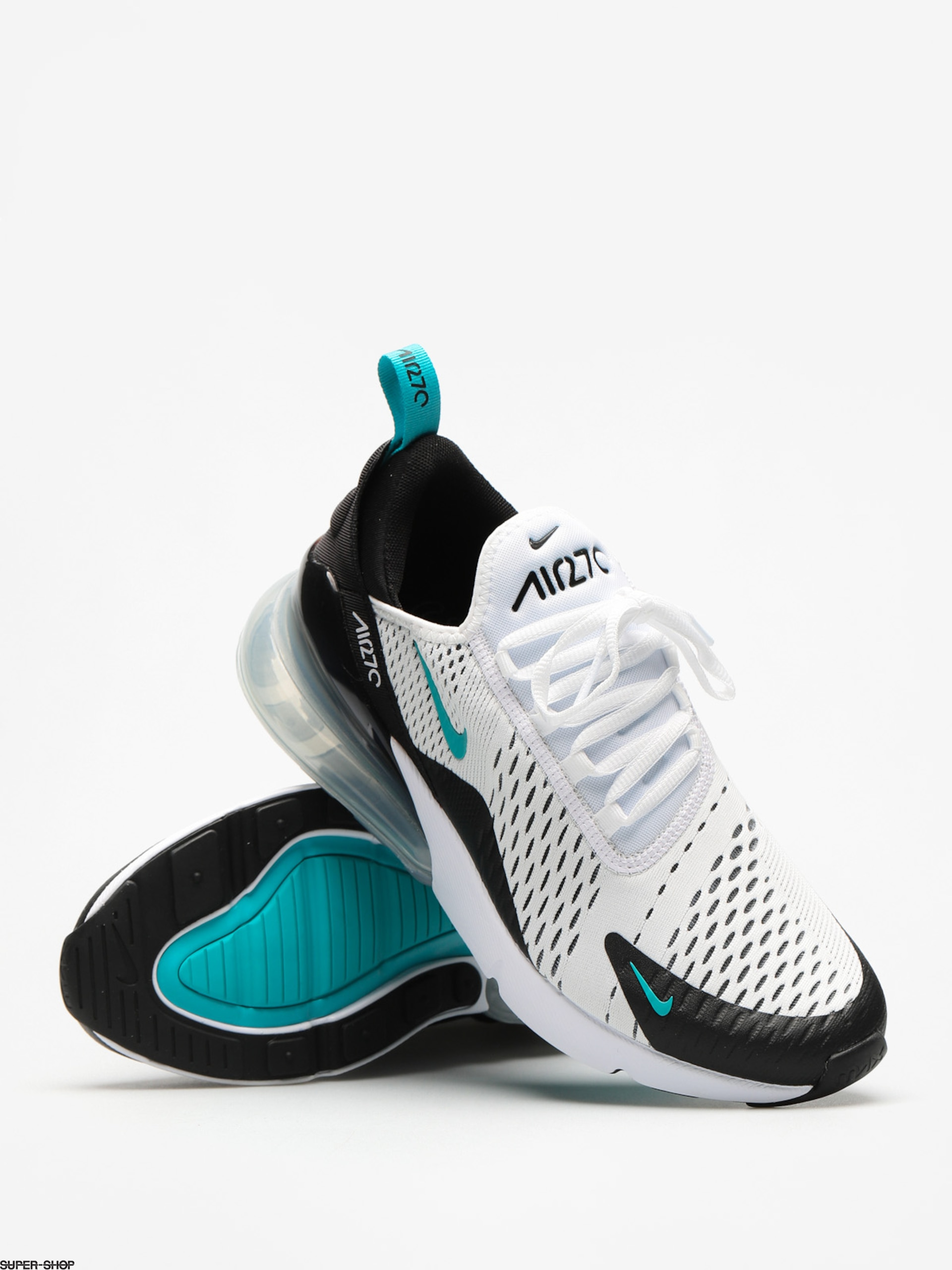 Nike Air Max 270 Shoes (blackwhite dusty cactus)