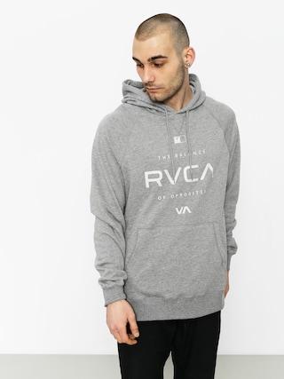RVCA Hoodie Lock In HD (grey noise)