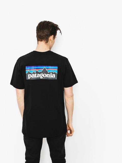 Patagonia T-shirt P6 Logo Responsibili (black)