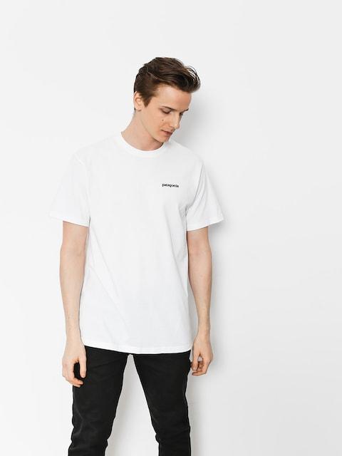 Patagonia T-shirt P6 Logo Responsibili (white)