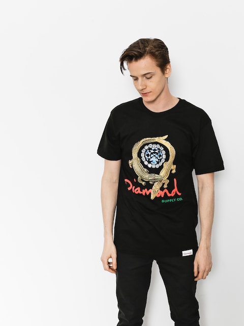 Diamond Supply Co. T-shirt Alligator (black)
