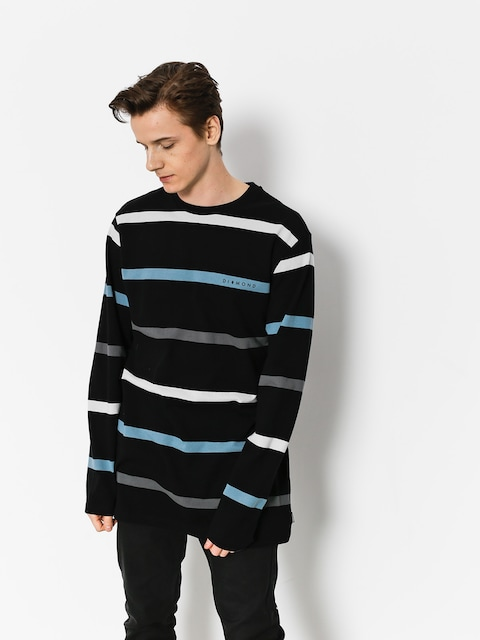 Diamond Supply Co. Longsleeve Paradise Striped (black)