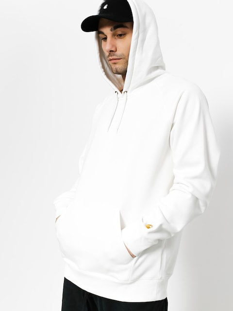 Carhartt Hoodie Chase HD (white/gold)