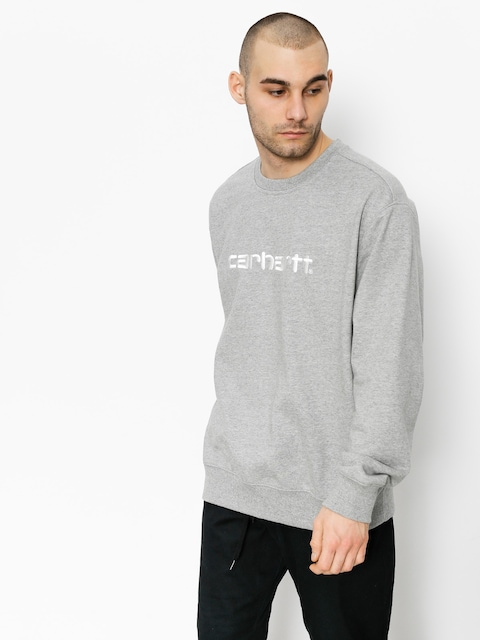 Carhartt Sweatshirt (grey heather/wax)