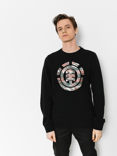 Element Sweatshirt Logo Fill Crew (flint black)