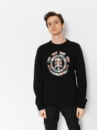Element Sweatshirt Logo Fill Crew (flint black)