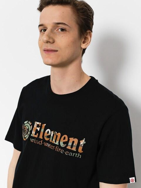 Element T-Shirt Horizontal Fill (flint black)