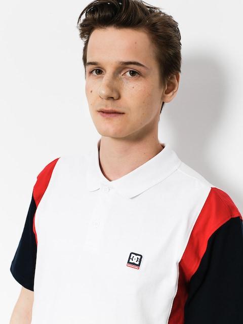 DC Polo t-shirt Fenton (snow white)