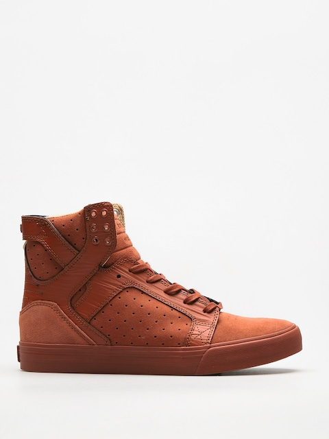 Supra Schuhe Skytop (brown patina)