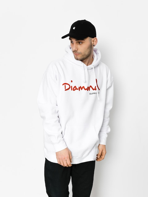 Diamond Supply Co. Sweatshirt Og Script (white)