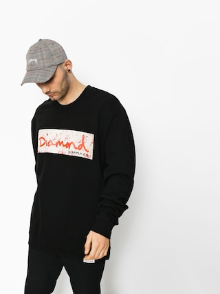 Diamond Supply Co. Sweatshirt Flamingo Box Logo (black)