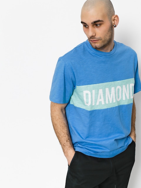 Diamond Supply Co. T-shirt Elliot (blue)
