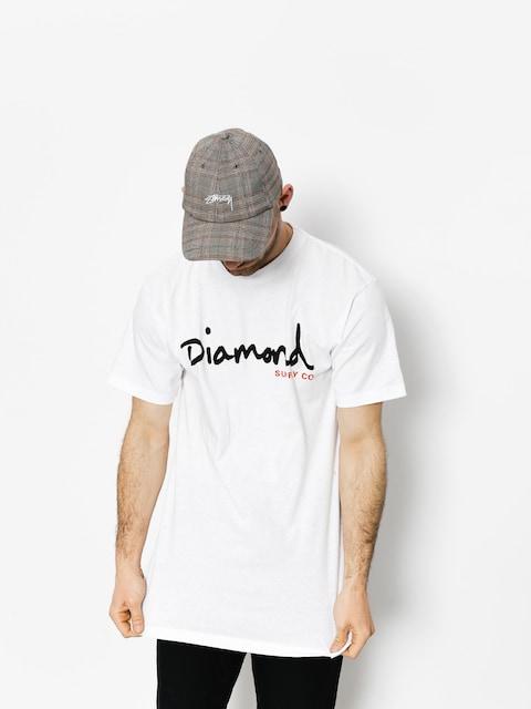Diamond Supply Co. T-shirt Og Script (white)
