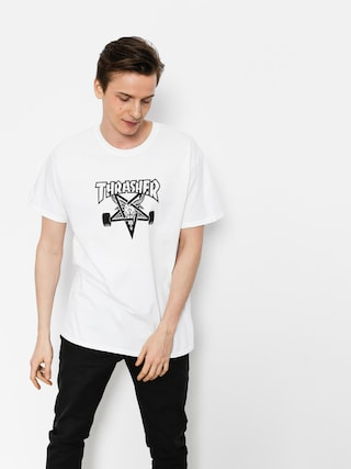 Thrasher T-shirt Skate Goat (white)