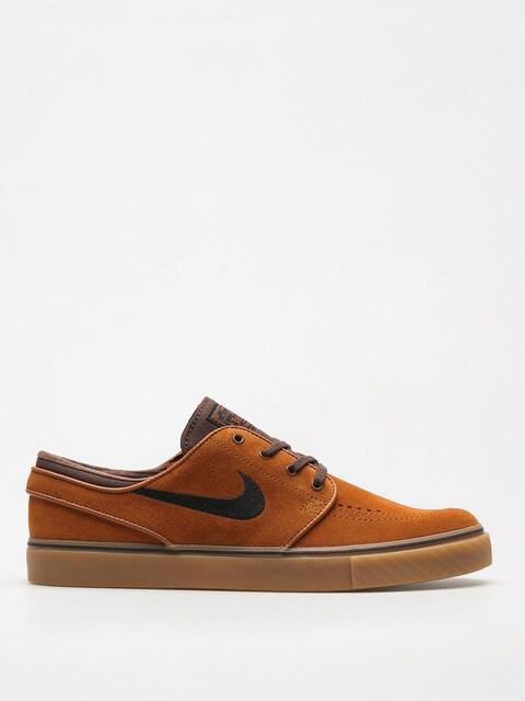 Nike SB Schuhe Zoom Stefan Janoski (hzlnt/blk brq/brwn gm/lght brw)
