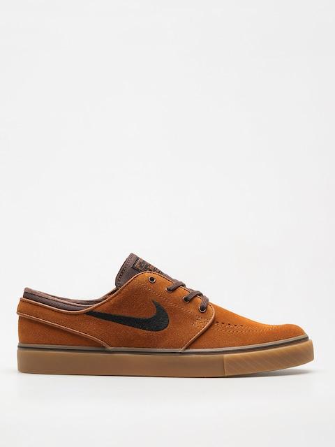 Nike SB Shoes Zoom Stefan Janoski (hzlnt/blk brq/brwn gm/lght brw)