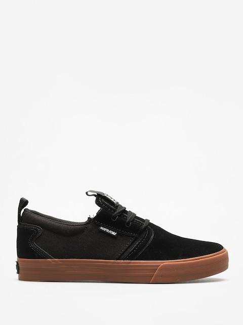 Supra Schuhe Flow (black/gum)