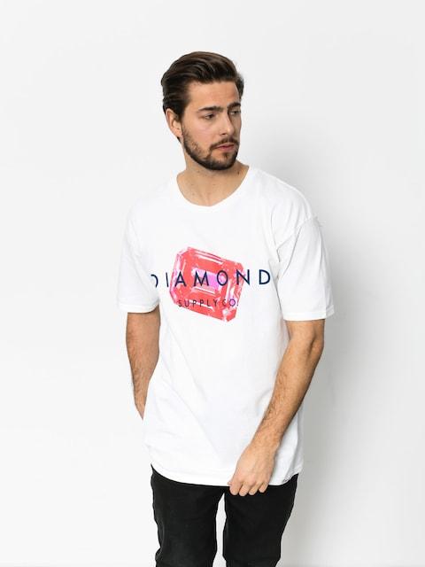 Diamond Supply Co. T-shirt Radiant Stone (white)