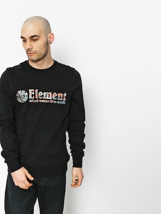 Element Sweatshirt Horizontal Fill Crew (flint black)
