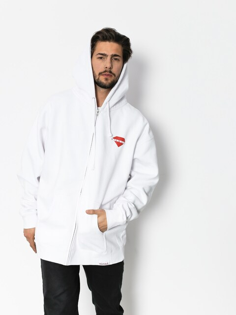 Diamond Supply Co. Hoodie Viewpoint ZHD (white)