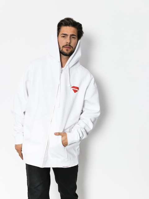 Diamond Supply Co. Hoody Viewpoint ZHD (white)