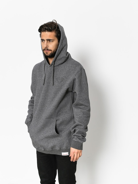Diamond Supply Co. Hoody Brilliant HD (gunmetal heather)