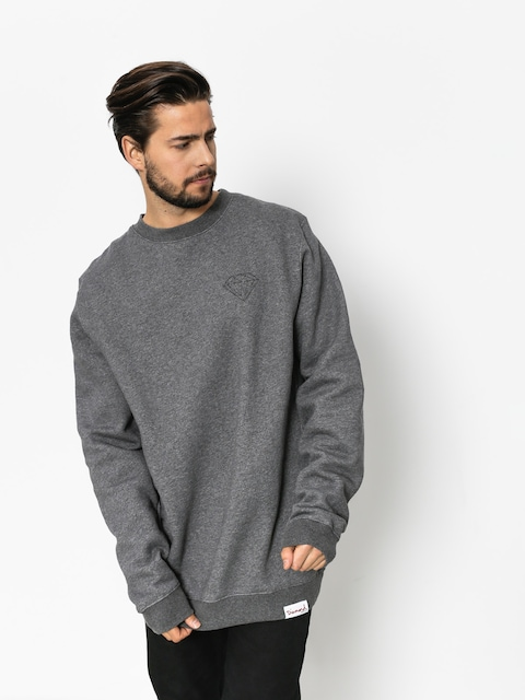 Diamond Supply Co. Sweatshirt Brilliant (gunmetal heather)