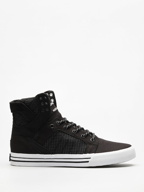 Supra Shoes Skytop (black/dk grey white)