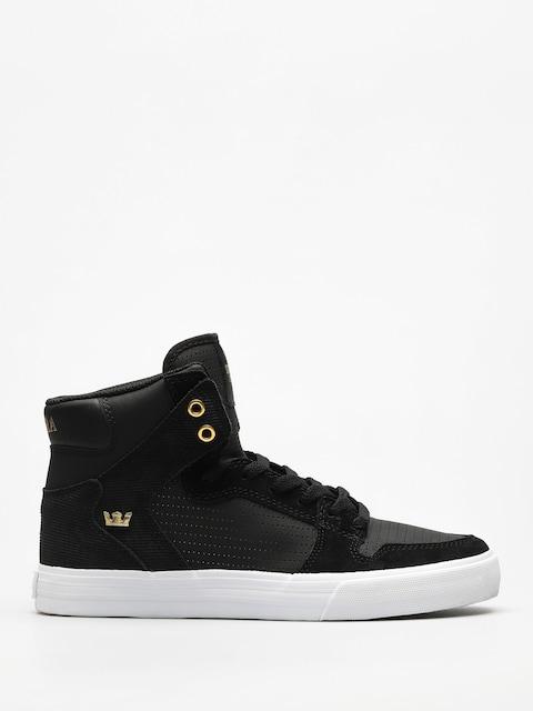 Supra Schuhe Vaider (black/gold)