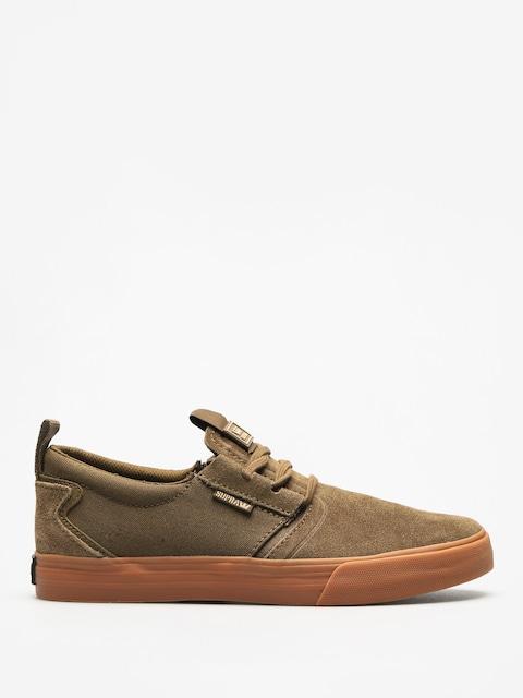 Supra Shoes Flow (olive gum)