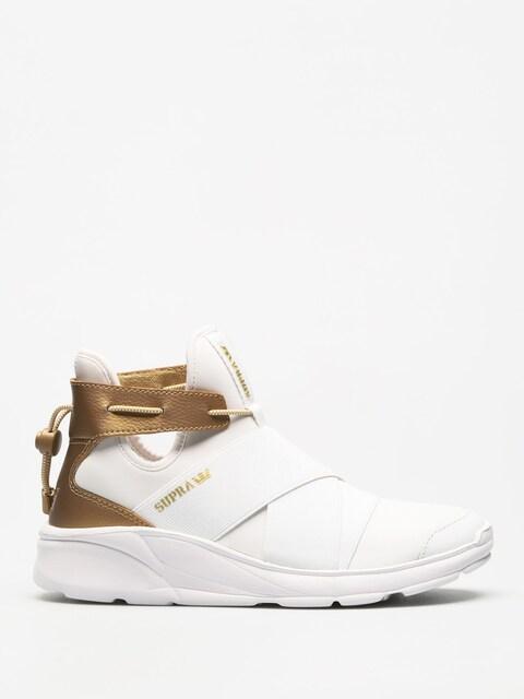 Supra Schuhe Anevay Wmn (white/gold white)