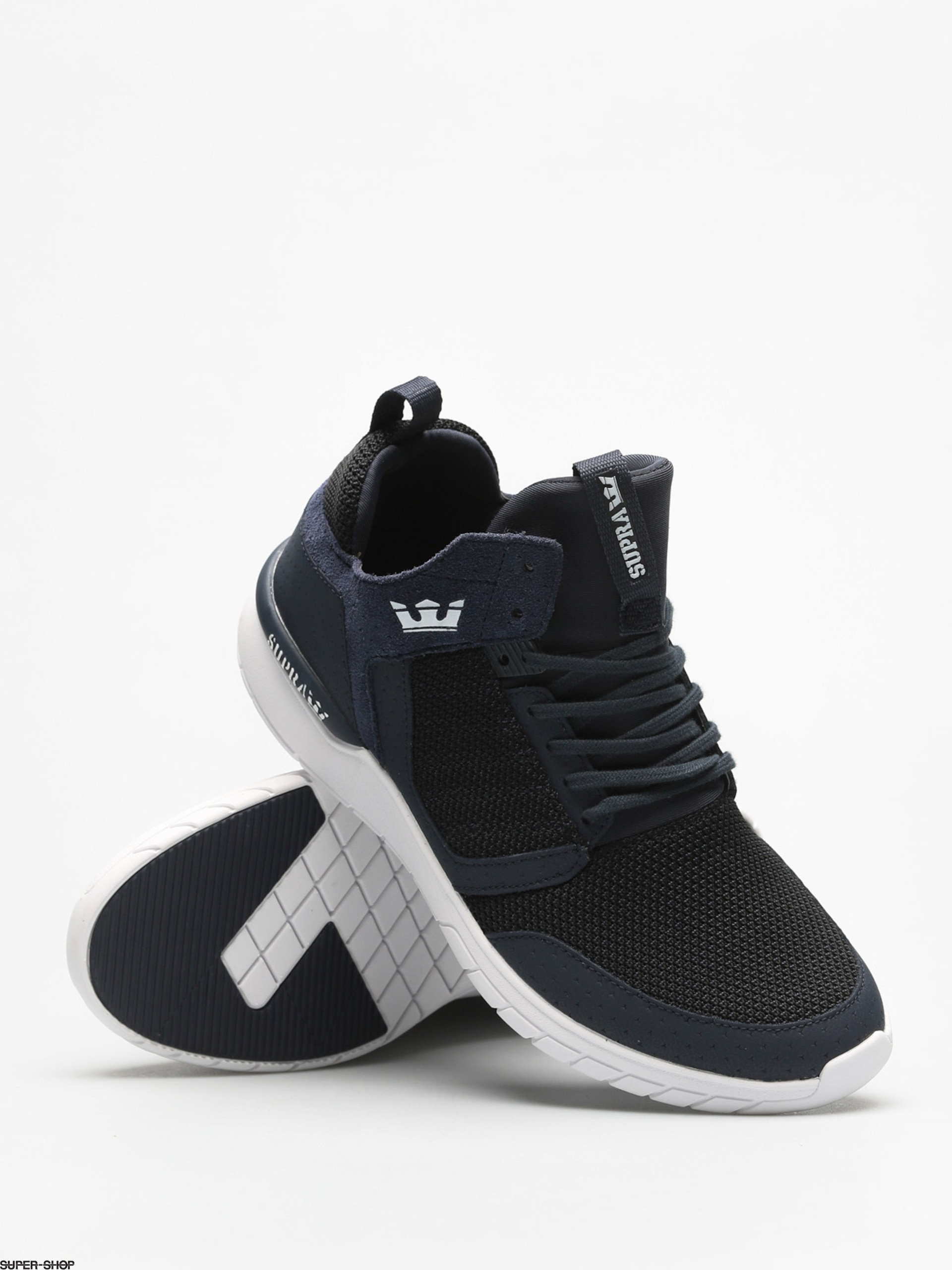 Supra Method Navy/ Black-White 3X66Jc