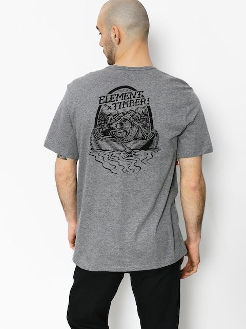 Element T-shirt Roar N Row (grey heather)