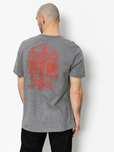 Element T-shirt Hooked (grey heather)