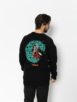 Turbokolor Sweatshirt Petrol Crewneck (black)