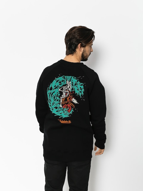 Turbokolor Sweatshirt Petrol Crewneck