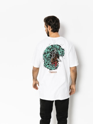 Turbokolor T-shirt Petrol (white)