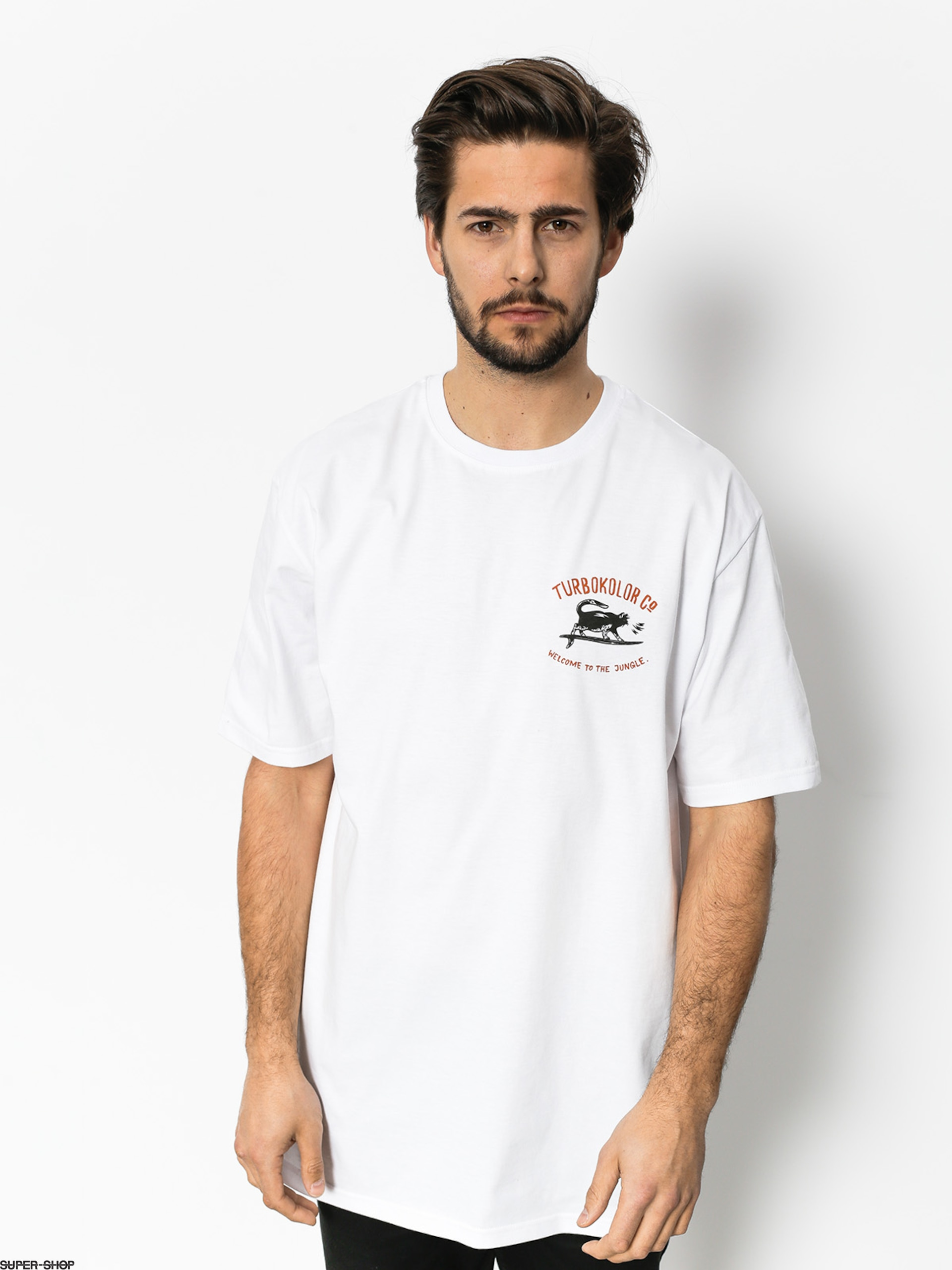 Turbokolor T-shirt Shaka (white)