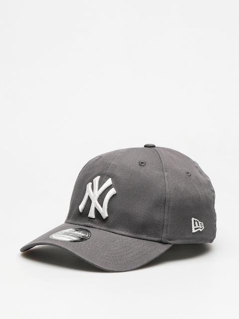 NEW ERA 39THIRTY FITTED CAP NEW YORK YANKEES WASHED GRAPHITE//WHITE