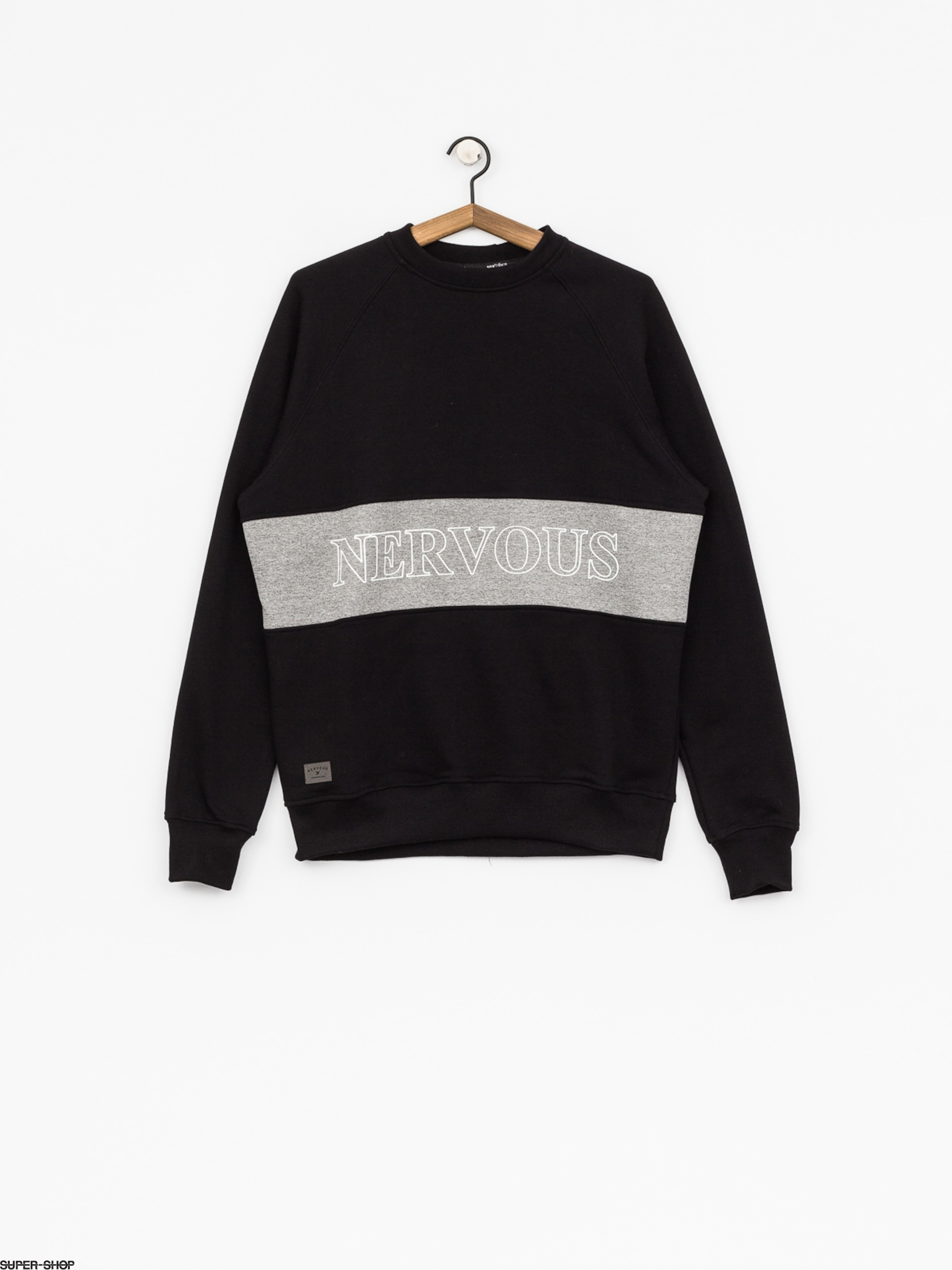Nervous Sweatshirt Lane (black)