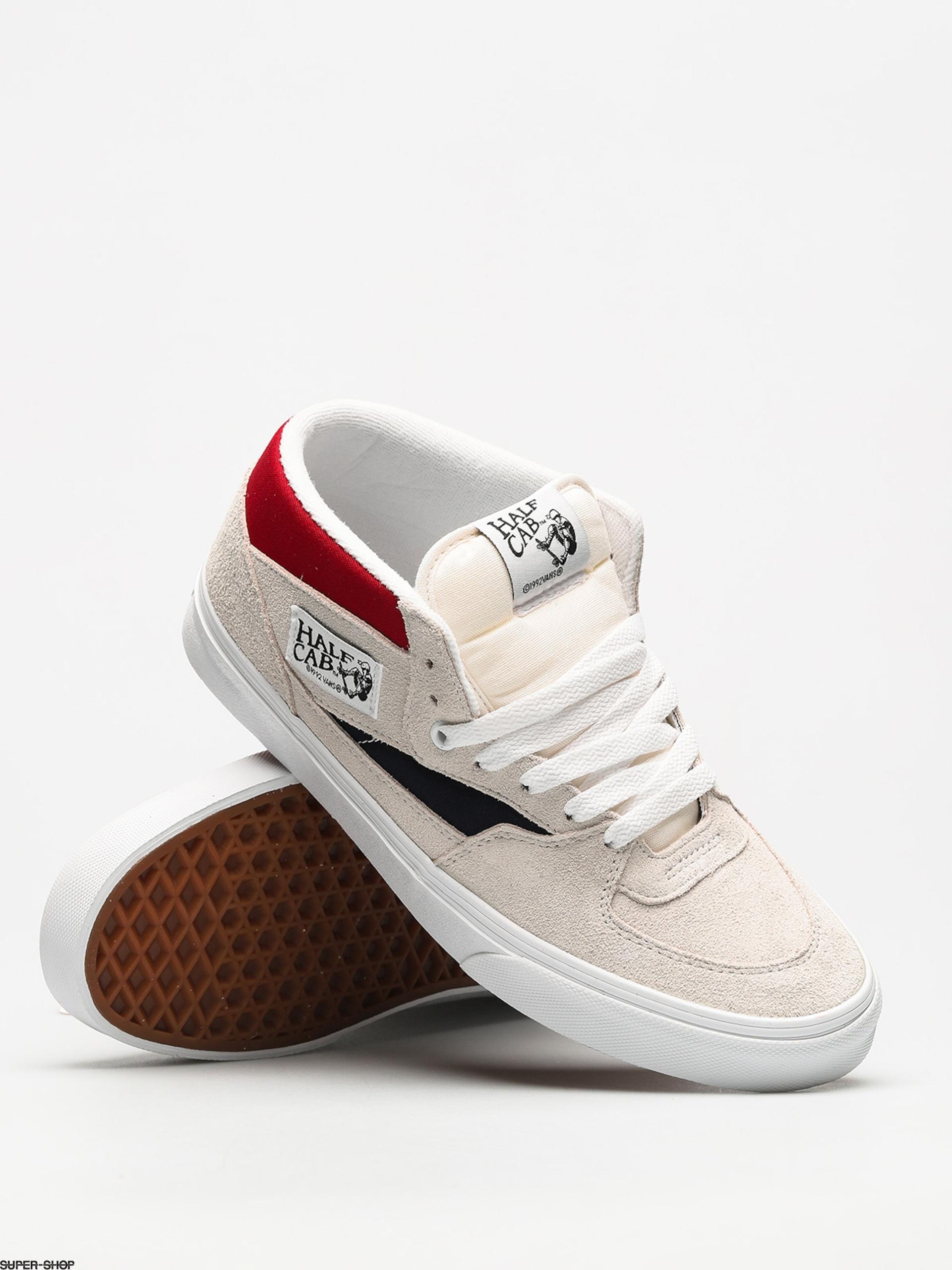 51f380d762f519 Vans Shoes Half Cab (retro block white red dress blues)