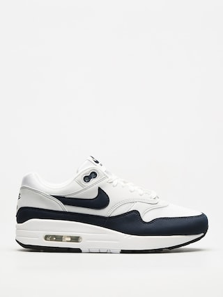 Nike Air Max 1 Shoes Wmn (white/obsidian pure platinum black)