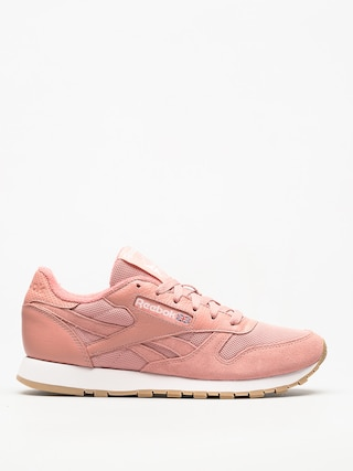 Reebok Shoes Cl Leather Estl Wmn (chalk pink/white)